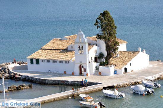 Vlacherna Klooster bij Kanoni Corfu